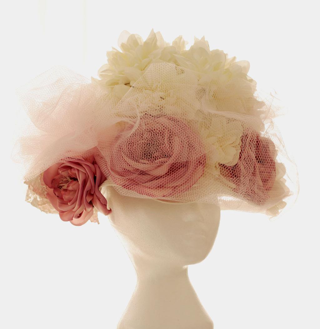 Pink Bouffant