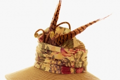 Feathered Garden Hat